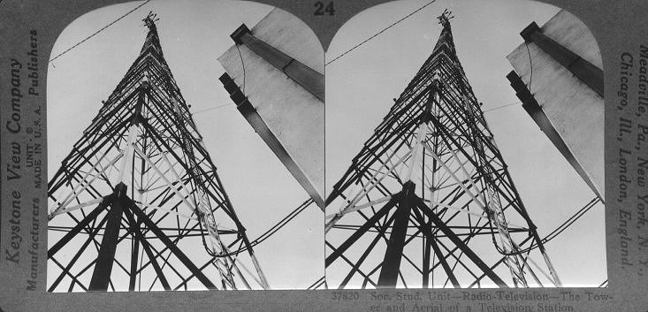 The Tower and Aerial of a Television Station