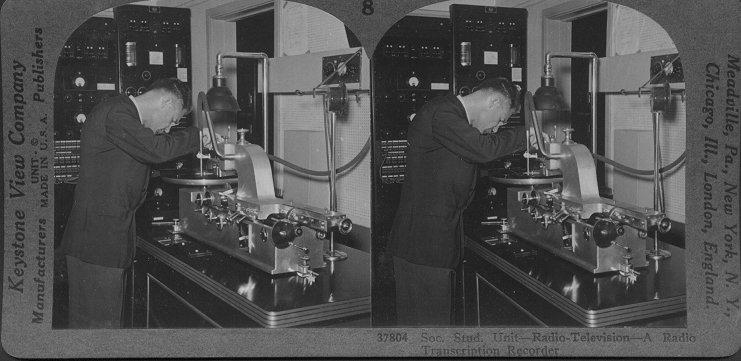 A Radio Transcription Recorder